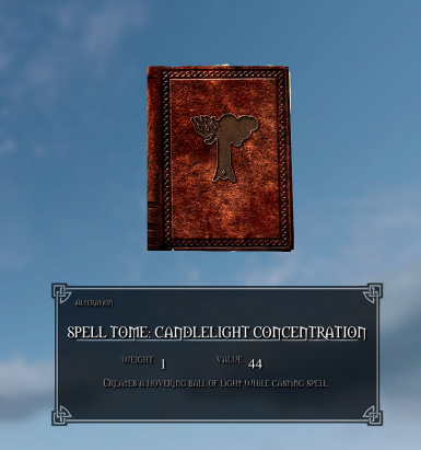 Candlelight Concentration Spell