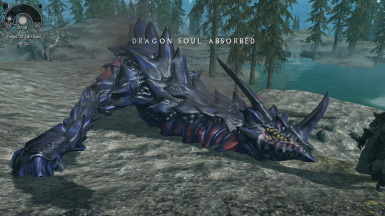 Apparently this dragon did not burn