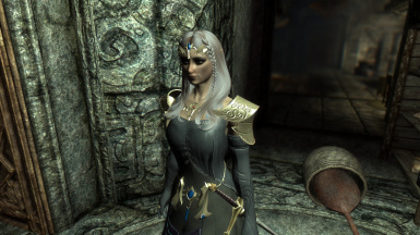 Dark Zelda's Attire and Zelda's Attire with added Realistic Gold