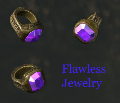New Flawless Gem variations of the Rings