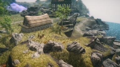 The Land of The Dead proof for TES Renewal Skyblivion (Very WIP)