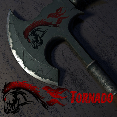 Tornado - Battle Axe