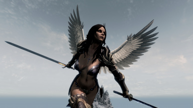 Angels in Skyrim by FavoredSoul