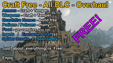 CRAFT FREE - ALL DLC - Overhaul