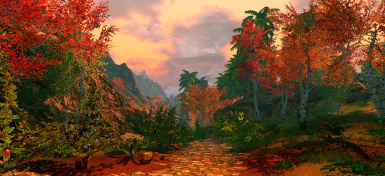 Tropical Skyrim Enhanced - with new LOD new Models new