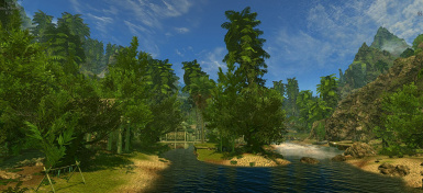 Tropical Skyrim Enhanced - with new LOD new Models new Textures
