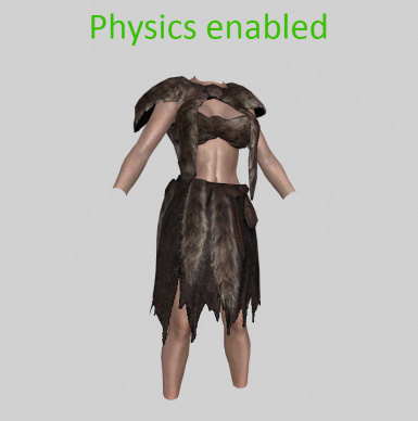 Immersive Vanilla Outfits BodySlided (with HDT-PE) for CBBE