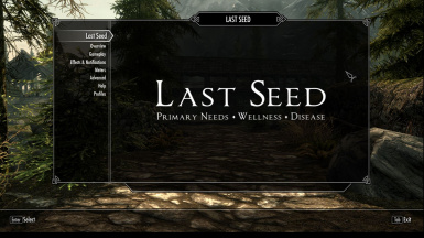 Last Seed - Primary Needs Wellness Disease --Prologue--