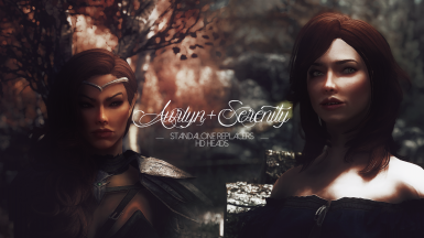 Aurlyn and Serenity - Standalone Replacers -  HD Head Meshes