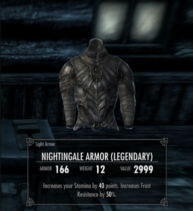 Legendary Nightingale Equipment