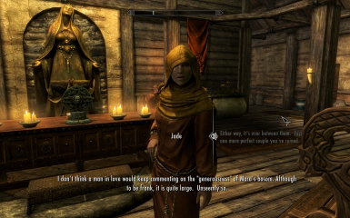 Jade - Thief turned Priestess in Riften