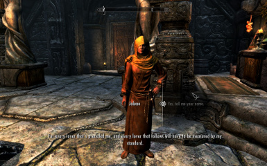 Jolene at Temple of Dibella in Markarth