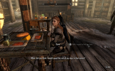 Fjona in Greywater Grotto then Riften