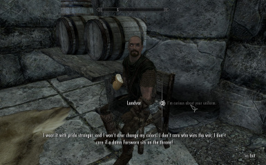 Lundvar at Markarth Exterior and Silver Blood Inn