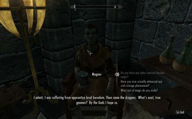 Mugnor at College of Winterhold Hall of Attainment