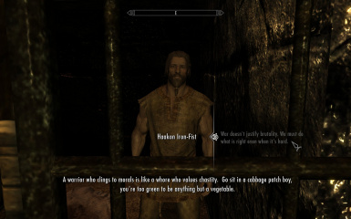 Haakon Iron-Fist at Windhelm Barracks