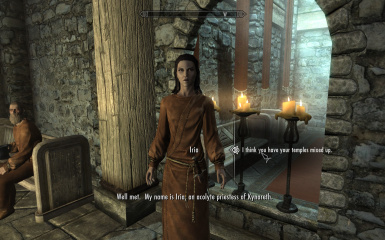 Iria at Whiterun Hall of Dead