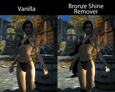 Ugly Bronze Shine Remover