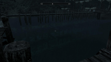 Dragons Landing Piers are built on old sunken ruins