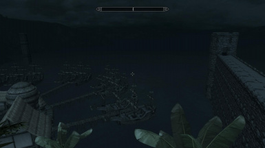 Dragons Landing Port and Sea wall
