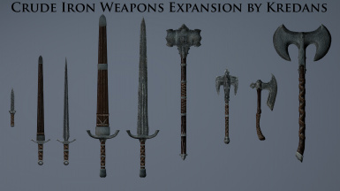 Crude Iron Weapons Expansion by Kredans