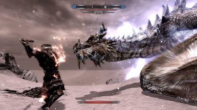 Replace Paarthurnax with Alduin (and Alduin with Paarthurnax)