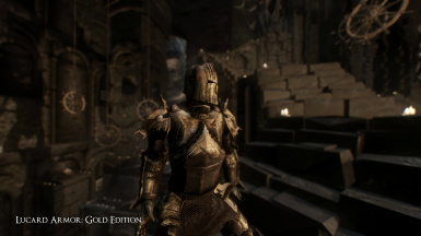 Knight Lucard - Armor Set and Greatsword