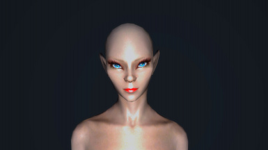 Female High Elf Preset for ECE - Arisha