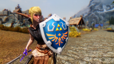 Hylian Shield Replacer for Relics of Hyrule - v1.3