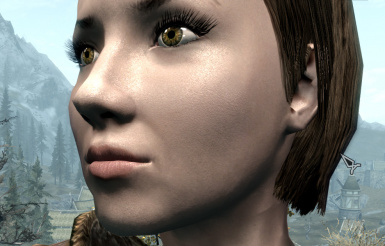 Natural Female Face Skin (Normal map)