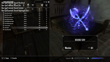Bound  Weapon  Overhaul