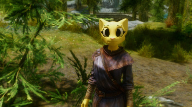 Making a Cat Dragonborn. Katia Managan Race Mod