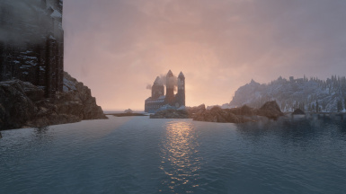 View from Castle Volkihar
