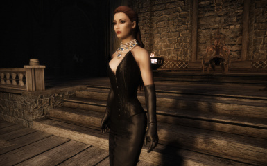 Kozakowy's Black Corset Dress UNP