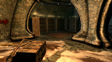 Solstheim Severin Manor Master Bedroom Library