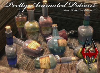 Pretty Animated Potions - Small Bottles Edition - DE Language Replacer