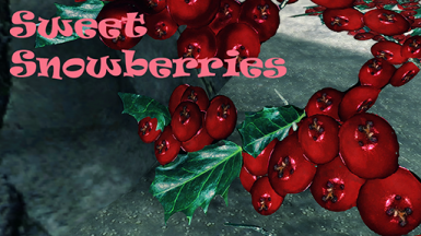 Sweet Snowberries Title