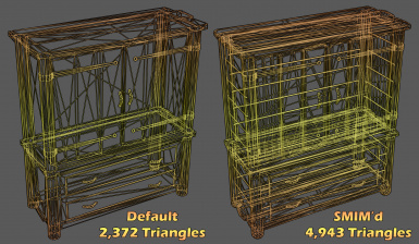 Wardrobe Wireframe Comparison