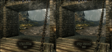 Whiterun Drawbridge Comparison