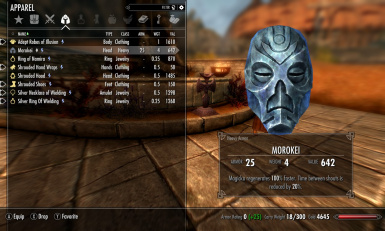 Morokei Heavy Armor with Shout Cooldown Fix