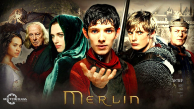 Syfy Merlin Intro video and main menu Theme and wallpaper