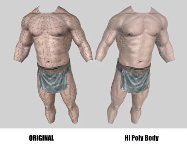 Hi Poly Male Body