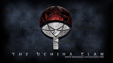 Uchiha Clan Main Menu Replacer