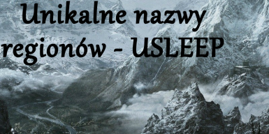 Unique Region Names USLEEP - Polish translation
