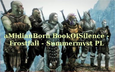 aMidianBorn BookOfSilence - Frostfall - Summermyst - Polish translation