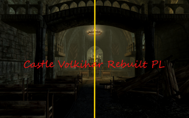 Castle Volkihar Rebuilt - Polish translation