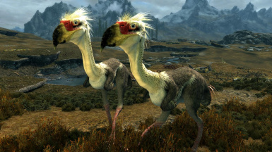 Terror Birds- Mihail Monsters and Animals (mihail immersive add-ons - tundra-  megafauna)