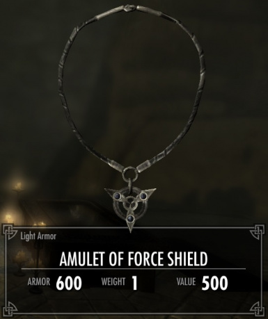 Amulet of Force Shield