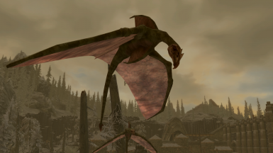 Cliff Racers- Mihail Monsters and Animals (mihail immersive add-ons - morrowind)