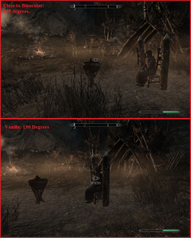 Binocular Vision For NPCs while Sneaking